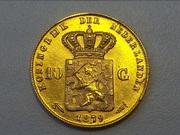 золотые монеты мира